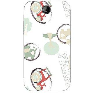 Garmor Designer Plastic Back Cover For Htc Desire 310