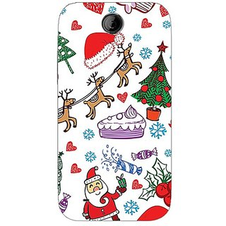 Garmor Designer Plastic Back Cover For Htc Desire 310