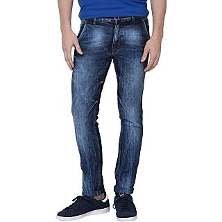 Super-X Blue Slim Fit Jeans For Men-abc13c
