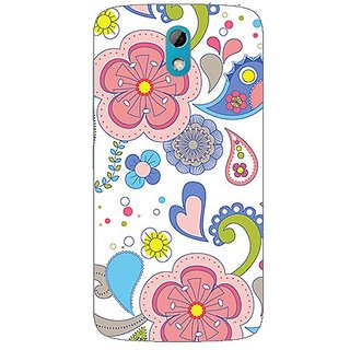 Garmor Designer Plastic Back Cover For Htc Desire 526