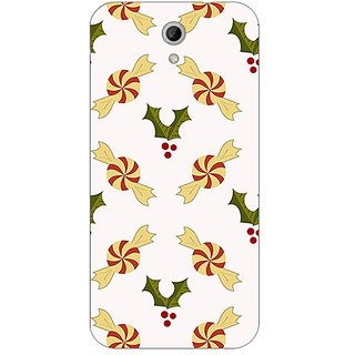Garmor Designer Plastic Back Cover For Htc Desire 620