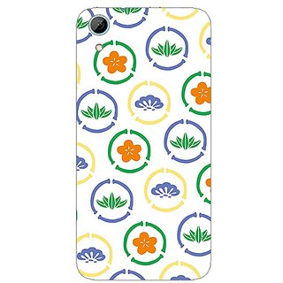 Garmor Designer Plastic Back Cover For Htc Desire 826