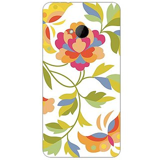 Garmor Designer Plastic Back Cover For Htc One