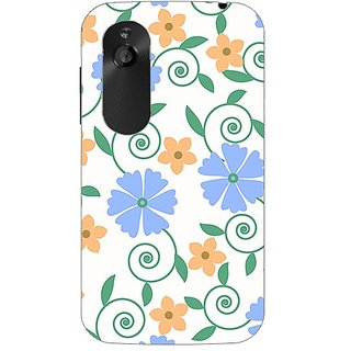 Garmor Designer Plastic Back Cover For Htc Desire V
