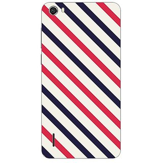Garmor Designer Plastic Back Cover For Huawei Honor 6