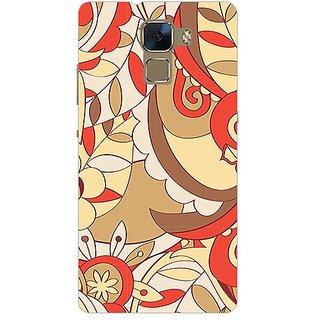 Garmor Designer Plastic Back Cover For Huawei Honor 7