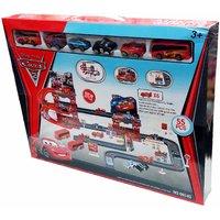 Kiditos 55 Pcs  Disney McQueen Mater Car Park Garage Racing Track Toy FREE SHIPPING