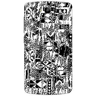 Garmor Designer Plastic Back Cover For Huawei Honor Holly
