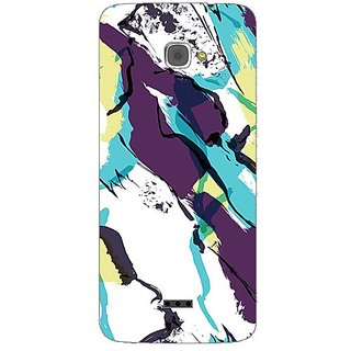 Garmor Designer Plastic Back Cover For Infocus M350