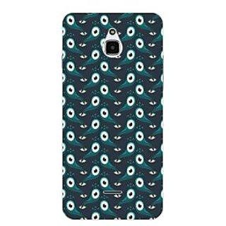 Garmor Designer Plastic Back Cover For Infocus M2