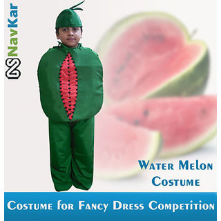 Water Melon Costume for Kids  Fancy Dress Competition