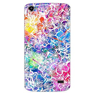 Garmor Designer Plastic Back Cover For Intex Aqua Star 2 Hd