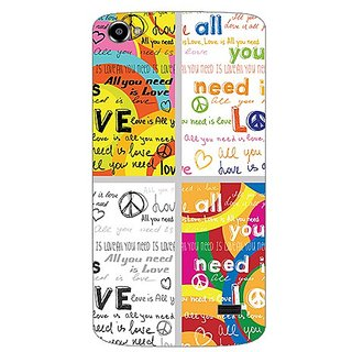Garmor Designer Plastic Back Cover For Intex Aqua Star 2 Hd