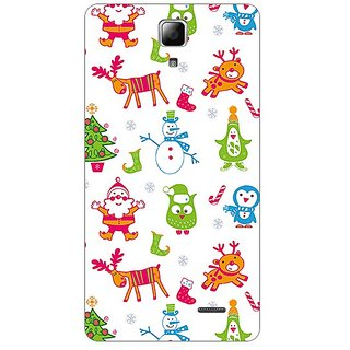 Garmor Designer Plastic Back Cover For Lenovo A536