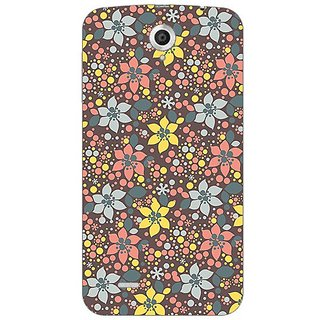 Garmor Designer Plastic Back Cover For Lenovo A859