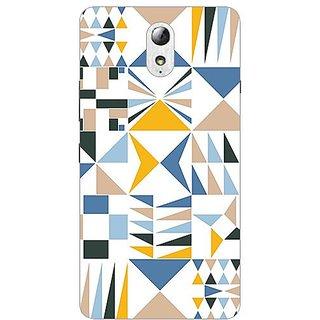 Garmor Designer Plastic Back Cover For Lenovo Vibe P1