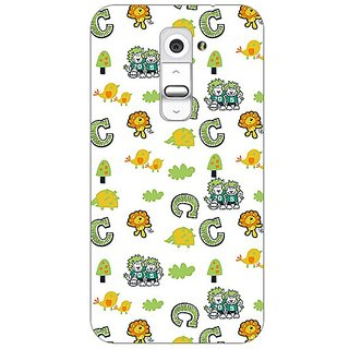 Garmor Designer Plastic Back Cover For Lg G2