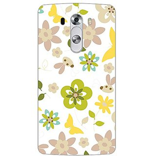 Garmor Designer Plastic Back Cover For Lg G3 Stylus