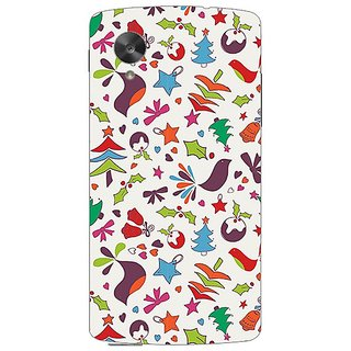 Garmor Designer Plastic Back Cover For Lg Google Nexus 5
