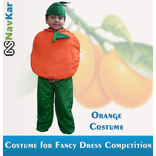 Orange Costume for Kids  Fancy Dress Costume for Birthday Gift  Fruit Costume