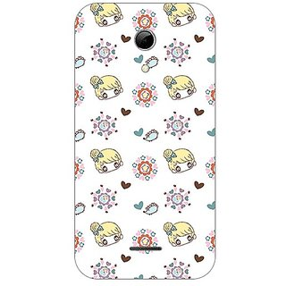 Garmor Designer Plastic Back Cover For Micromax A114 Canvas