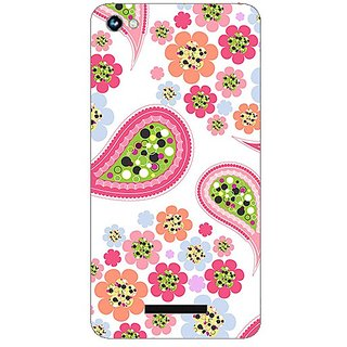 Garmor Designer Plastic Back Cover For Micromax Canvas Hue 2 A316