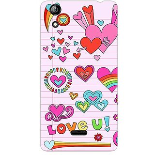 Garmor Designer Plastic Back Cover For Micromax Canvas Selfie 2 Q340