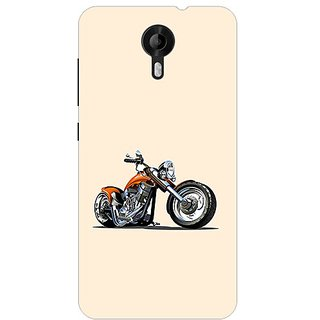 Garmor Designer Plastic Back Cover For Micromax Canvas Nitro 3 E455