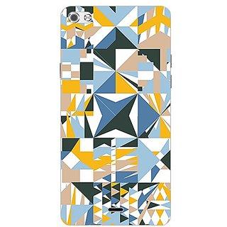 Garmor Designer Plastic Back Cover For Micromax Canvas Sliver 5 Q450