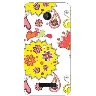 Garmor Designer Plastic Back Cover For Micromax Canvas Spark Q380