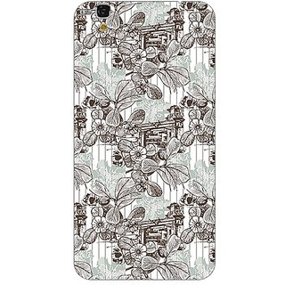 Garmor Designer Plastic Back Cover For Micromax Yu Yureka