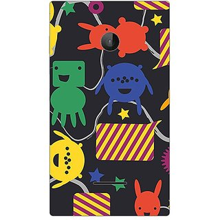Garmor Designer Plastic Back Cover For Microsoft Lumia 532