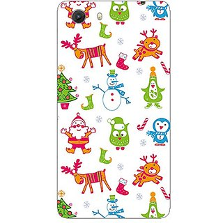 Garmor Designer Plastic Back Cover For Micromax Q372 Unite 3