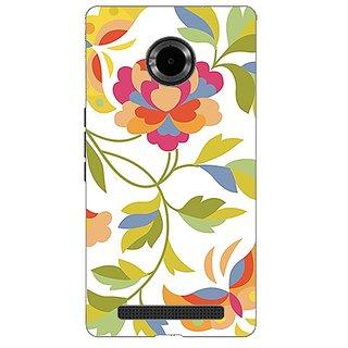 Garmor Designer Plastic Back Cover For Micromax Yu Yuphoria Yu5010