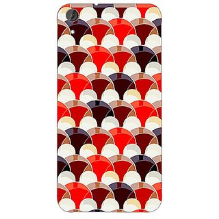 Garmordesigner Plastic Back Cover For Htc Desire 820