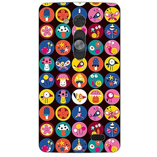 Garmor Designer Plastic Back Cover For Lg L Fino