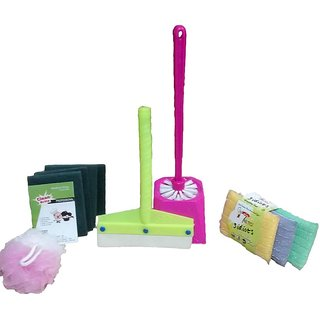 Set Of 10 Cleaning Utilities