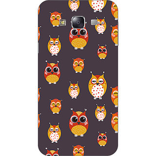 Garmor Designer Plastic Back Cover For Samsung Galaxy E7 Sm-E700