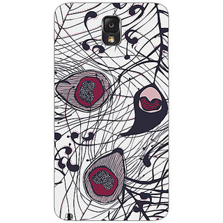 Garmor Designer Plastic Back Cover For Samsung Galaxy Note 3 Sm-N9000