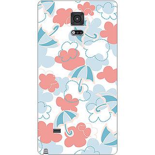 Garmor Designer Plastic Back Cover For Samsung Galaxy Note 4 Sm-N910