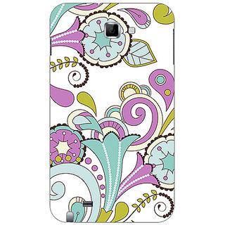 Garmor Designer Plastic Back Cover For Samsung Galaxy Note N7000