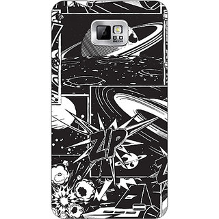 Garmor Designer Plastic Back Cover For Samsung I9100 Galaxy S 2