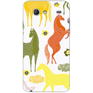 Garmor Designer Plastic Back Cover For Samsung I9070 Galaxy S Advance
