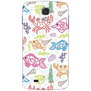 Garmor Designer Plastic Back Cover For Samsung Galaxy S4 Gt I9500