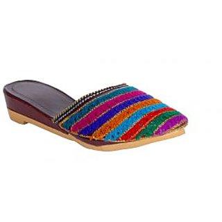 Panahi Women Multi Color Sandals