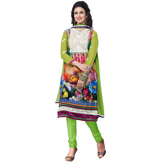 Lovely Look Multicolor Printed Un-Stitched Straight Suit LLKKFIshita02