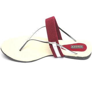 Azores Women's Maroon Sandal