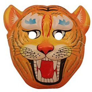 Angry Tiger Face Mask
