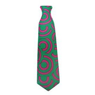 Neon Psychedelic Printed Tie