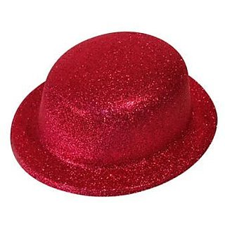 Party Hat Glitter - Red